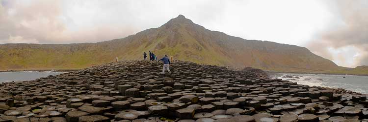 Personalised day tours to the Giant's Causeway in scenic county Antrim