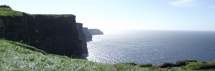 Personalised Day Tours to the Cliffs of Moher, Co. Clare, Ireland